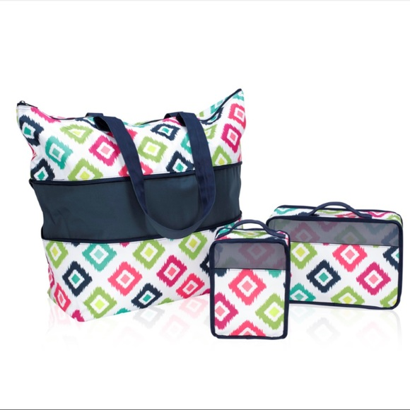 Expand-A-Tote Bundle in Candy Corners